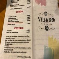 Photo taken at Villano Taqueria by Juanjo S. on 8/14/2018