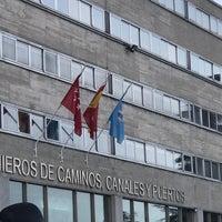 Photo taken at E.T.S.I. de Caminos, Canales y Puertos (UPM) by Juanjo S. on 3/25/2017