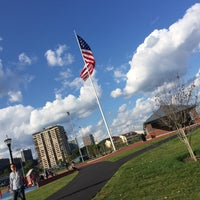Photo taken at Veterans Field Park by Asya İmge T. on 9/7/2017