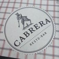 Foto tomada en Cabrera Resto Bar por rvargasgomez el 12/16/2013