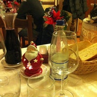 Photo taken at antica trattoria delle langhe by Gloria L. on 1/5/2013