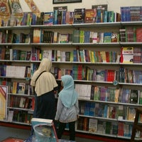 Photo taken at Togamas Bookstore by Ahimsa U. on 10/28/2012