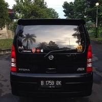 Photo taken at Bursa Mobil GOR Satria Purwokerto by Arafat Bayu N. on 2/9/2014