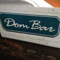 Photo taken at Dom Bar by Rafaela C. on 2/16/2013