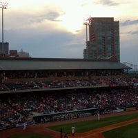 Photo taken at Louisville Slugger Field by Sam on 7/27/2013
