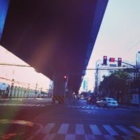 Photo taken at Taft & Padre Faura Intersection by Randy E. on 4/3/2015