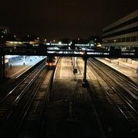 Photo taken at Southampton Central Railway Station (SOU) by Xavier W. on 11/15/2012