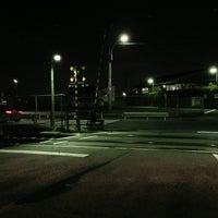 Photo taken at 水道路踏切 by ホームズ on 1/19/2013