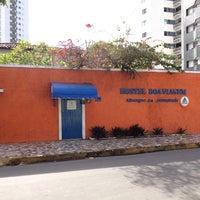 Photo taken at Hostel Boa Viagem by Stefanne L. on 11/24/2013