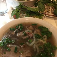 Photo taken at Pho Hoa Hiep Restaurant by Erika S. on 11/6/2017