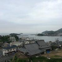 Photo taken at 鞆シーサイドホテル by yasu y. on 6/8/2014