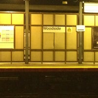 Photo taken at LIRR - Woodside Station by Crystal B. on 1/12/2013