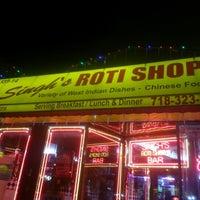 Photo taken at Singh's Roti Shop by Pvision G. on 12/9/2012