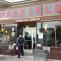 Photo taken at Maxfield's House of Caffeine by romain p. on 1/5/2013