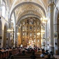 Photo taken at Templo de Santo Domingo by Juan Carlos O. on 12/16/2012