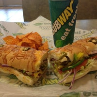 Photo taken at SUBWAY by Jerry on 11/30/2012