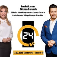 Photo taken at Kanal 24 - Star / Kantin by Gokhan D. on 2/12/2016