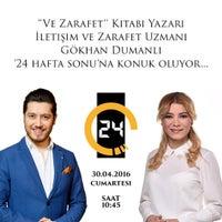 Photo taken at Kanal 24 - Star / Kantin by Gokhan D. on 4/29/2016