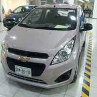 Photo taken at Distribuidor Autorizado Chevrolet (Rivero Motors, S.A. de C.V) by Summer F. on 2/14/2013