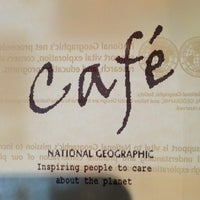 Photo taken at The National Geographic Singapore Store Café by Michael V. on 3/17/2013