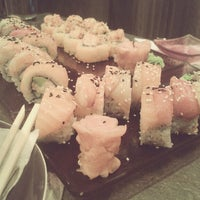 Photo taken at Silk Sushi Bar by Igor F. on 5/15/2013