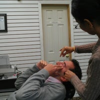 Photo taken at The Threading Station by Nirmala R. on 10/18/2012