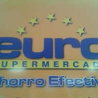 Photo taken at EURO Supermercado by Carolina A. on 10/27/2012