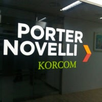 Photo taken at KorCom Porter Novelli by Jangyul K. on 2/19/2014