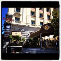 Photo taken at Hard Rock Cafe Madrid by Paula on 11/21/2012