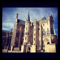 Photo taken at Palacio Episcopal de Astorga by Paula on 10/4/2012