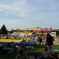 Photo taken at Hietzingerbad Sommerbad by Nenad K. on 7/20/2014