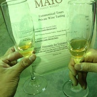 Photo taken at Mayo Family Winery by Kike S. on 6/21/2013