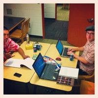 Photo taken at Baran Hall: Saint Martin's University by Austin B. on 9/20/2012