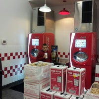 Photo taken at Five Guys by Machelle Z. on 11/20/2013