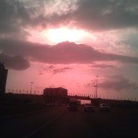 Photo taken at Al Ittihad Rd by Farri S. on 12/22/2013