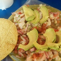 Photo taken at Mariscos Towi by Michelle T. on 3/8/2015