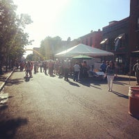 Photo taken at Armory Square by John D. on 6/12/2013