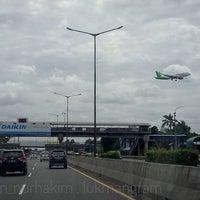 Photo taken at Jalan Tol Jakarta - Cikampek by lukman n. on 12/1/2016