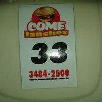 Foto tirada no(a) Come Lanches por Sólon F. em 5/8/2013
