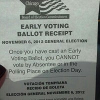 Photo taken at Voting by Julia C. on 11/7/2012