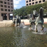 Photo taken at The Mustangs of Las Colinas by Debbie on 7/2/2013