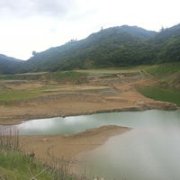 Photo taken at Represa Proyecto Hidroelectrico Pirrís by Guillermo R. on 9/3/2014