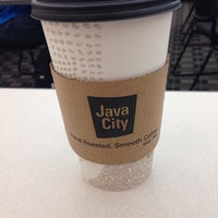 Photo taken at Java City by Sarah R. on 12/3/2013