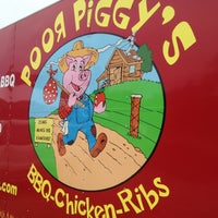 Photo taken at Poor Piggy's BBQ by Joe G. on 4/20/2013