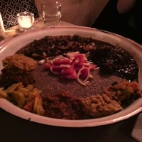 Photo taken at Ethiopiques by Edward C. on 1/10/2015