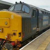 Das Foto wurde bei Barrow-in-Furness Railway Station (BIF) von Peter H. am 5/30/2015 aufgenommen