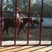 Photo taken at Lienzo Charro by Nika on 12/23/2012
