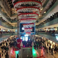 Photo taken at Ambience Mall by Lakshman P. on 12/25/2012