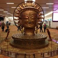 Photo taken at Indira Gandhi International Airport (DEL) by Lakshman P. on 3/4/2013