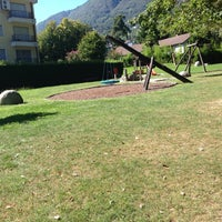 Photo taken at Parco giochi Usignolo by Emerold B. on 9/2/2013